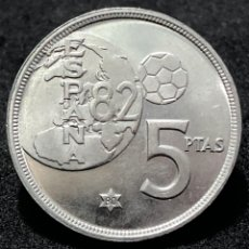 Monedas Juan Carlos I: MONEDA DE 5 PESETAS DE 1980 ESTRELLA DEL 80- EBC. Lote 247550295