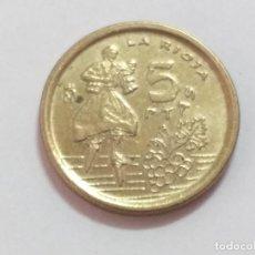 Monedas Juan Carlos I: MONEDA ESPAÑA. 5 PESETAS. DURO. AÑO 1996. LA RIOJA. Lote 247765210