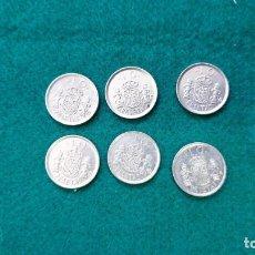 Monedas Juan Carlos I: ESPAÑA 10 PESETAS 6 MONEDAS. Lote 248565555