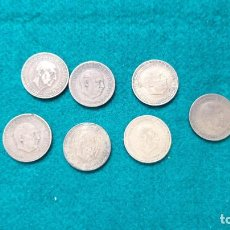 Monedas Juan Carlos I: ESPAÑA 1 PESETA 7 MONEDA FRANCO. Lote 248570795