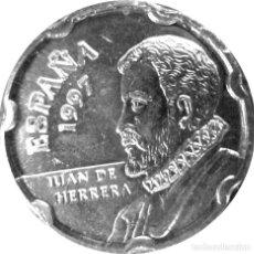 Monete Juan Carlos I: ESPAÑA, 50 PESETAS 1997 ''JUAN DE HERRERA: EL ESCORIAL'' SIN CIRCULAR (PROCEDENTE DE BOLSA ORIGINAL). Lote 249356800