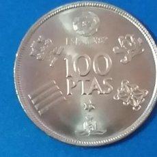 Monedas Juan Carlos I: MONEDA 100 PESETAS. MUNDIAL DE FÚTBOL 1982. AÑO 1980. ESTRELLA 80. Lote 249416570