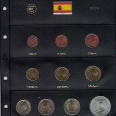 Monedas Juan Carlos I: JUAN CARLOS I. AÑO 2005 COMPLETO. SE VENDE INCLUIDA LA HOJA DE PARDO,. Lote 251470500