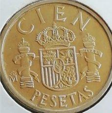 Monedas Juan Carlos I: CIEN PESETAS DE 1988. MUY BIEN CONSERVADO. ADJUNTO PEDIDOS. ACEPTO OFERTAS.. Lote 242993335
