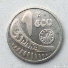 Monete Juan Carlos I: MONEDA DE 1 ECU PLATA 1989. ESPAÑA - EUROPA.. Lote 254052710