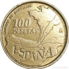 Monedas Juan Carlos I: ESPAÑA. 100 PESETAS DE 1993. CAMINO DE SANTIAGO. (134).. Lote 254053110