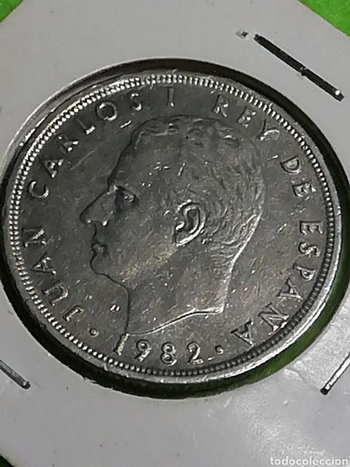 Monedas Juan Carlos I: 50 pesetas 1982. Juan Carlos I - Foto 3 - 254629060