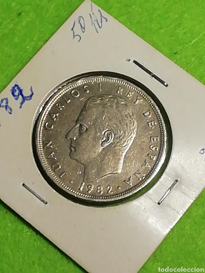 Monedas Juan Carlos I: 50 pesetas 1982. Juan Carlos I - Foto 4 - 254629060