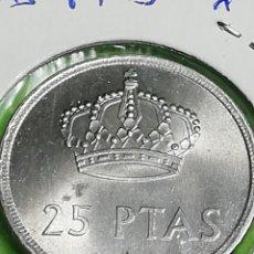 Monedas Juan Carlos I: 25 PESETAS DE 1975 ESTRELLA 80. SIN CIRCULAR.. Lote 254629985