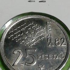 Monedas Juan Carlos I: 25 PESETAS DE 1980 ESTRELLA 81. SIN CIRCULAR.. Lote 254630225