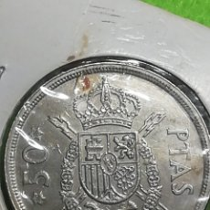 Monedas Juan Carlos I: 50 PESETAS DE 1975 ESTRELLA 78. JUAN CARLOS I. Lote 255009110
