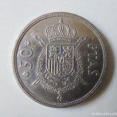 Monedas Juan Carlos I: ANTIGUA Y PRECIOSA MONEDA DE 50 PESETAS - 1975 - JUAN CARLOS I - ESTRELLA 19 79 - MBC -. Lote 257931105