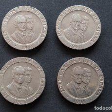 Monedas Juan Carlos I: LOTE 4 MONEDAS DE 200 PTAS - AÑOS 1990 Y 1991 - MADRID CAPITAL EUROPEA DE LA CULTURA...L3857. Lote 259852430