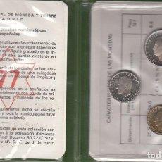 Monedas Juan Carlos I: JUAN CARLOS I: CARTERA MONEDAS AÑO 1977 / FNMT. Lote 260692020