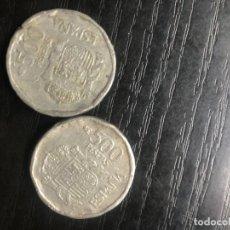 Monnaies Juan Carlos I: 2 MONEDAS FALSAS DE 500 PESETAS DE JUAN CARLOS I. Lote 261104810