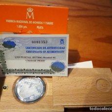 Monedas Juan Carlos I: 1000 PESETAS DE 1998 EN PLATA. CAMPEONATO MUNDIAL DE FUTBOL. Lote 262377955