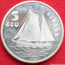 Monedas Juan Carlos I: ESPAÑA 5 ECU DE PLATA 1993 (DON JUAN DE BORBÓN). Lote 262600220