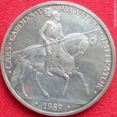 Monedas Juan Carlos I: ESPAÑA 5 ECU DE PLATA 1989. Lote 262600775