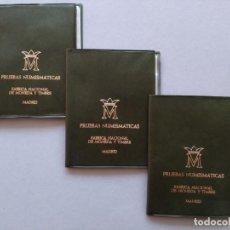 Monedas Juan Carlos I: LOTE 3 CARTERAS - FNMT - MONEDAS ESPAÑA - AÑO 1975, *77...L3920. Lote 262709280