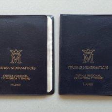 Monedas Juan Carlos I: LOTE 2 CARTERAS - FNMT - MONEDAS ESPAÑA - AÑO 1975, *79...L3921. Lote 262710755