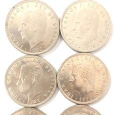 Monedas Juan Carlos I: 6 MONEDAS DE 100 PESETAS. PRECIO ESPECIAL REVENDEDOR, LIQUIDACIÓN DE STOCK.. Lote 263050200