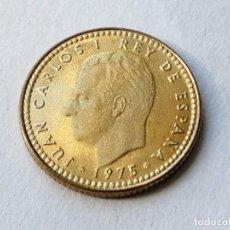Monedas Juan Carlos I: 1 PESETA. AÑO 1975 *76. PROOF.. Lote 263056155