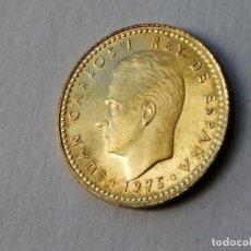 Monedas Juan Carlos I: 1 PESETA. AÑO 1975 *77. PROOF.. Lote 263062310