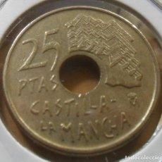 Monedas Juan Carlos I: ESPAÑA - 25 PESETAS - 1996 * M - CASTILLA-LA MANCHA. Lote 263122480