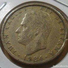 Monedas Juan Carlos I: ESPAÑA - 100 PESETAS - 1984 * M - JUAN CARLOS I - FLOR DE LIS HACIA ARRIBA. Lote 263123495