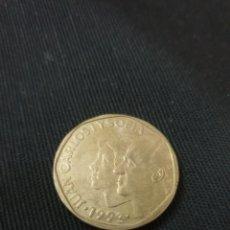 Monedas Juan Carlos I: ANTIGUA MONEDA 500 PESETAS 1993 JUAN CARLOS L Y SOFÍA. Lote 263125405