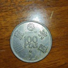 Monedas Juan Carlos I: 100 PESETAS MUNDIAL 82 ESTRELLA 80. Lote 263201035
