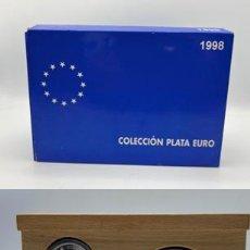 Monedas Juan Carlos I: COLECCIÓN PLATA EURO 1998. FNMT. VER TODAS LAS FOTOS. Lote 263659575