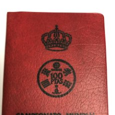 Monedas Juan Carlos I: CARTERA 6 VALORES PESETAS 1980 *80. MUNDIAL DE FÚTBOL. C3. Lote 265665099