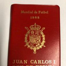 Monedas Juan Carlos I: CARTERA 6 VALORES PESETAS 1980 *80. MUNDIAL DE FÚTBOL. C4. Lote 265665339