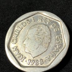 Monedas Juan Carlos I: MONEDA DE 200 PESETAS DE 1988. REY JUAN CARLOS 1º. Lote 266140523