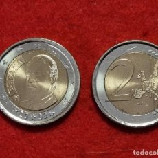 Monedas Juan Carlos I: MONEDA DE 2 EUROS ESPAÑA AÑO 2002 REY JUAN CARLOS I NUEVA DE CARTUCHO, ORIGINAL. Lote 266842049