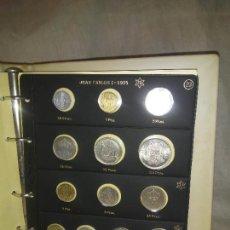 Monedas Juan Carlos I: COLECCIÓN COMPLETA DE MONEDAS DE JUAN CARLOS I (NUEVAS SIN CIRCULAR) * *. Lote 267732269
