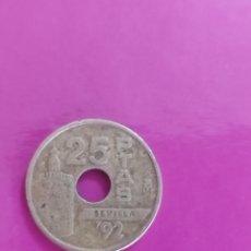 Monedas Juan Carlos I: MONEDA DE 25 PESETAS DE 1992. Lote 269081233