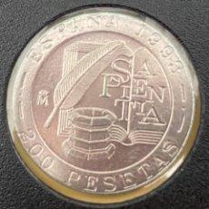 Monedas Juan Carlos I: MONEDA JUAN CARLOS I 200 PTAS 1993 MBC+++. Lote 269085343