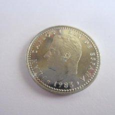 Monedas Juan Carlos I: LOTE DE 45 MONEDAS DE 1 PESETA JUAN CARLOS I (1983). Lote 269089618