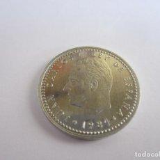 Monedas Juan Carlos I: LOTE DE 130 MONEDAS DE 1 PESETA JUAN CARLOS I (1984). Lote 269089788