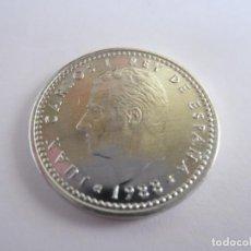 Monedas Juan Carlos I: LOTE DE 305 MONEDAS DE 1 PESETA JUAN CARLOS I (1988). Lote 269090633