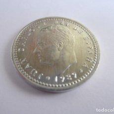 Monedas Juan Carlos I: LOTE DE 130 MONEDAS DE 1 PESETA JUAN CARLOS I (1989). Lote 269090803