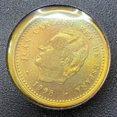 Monedas Juan Carlos I: MONEDA JUAN CARLOS I 100 PTAS LIS ARRIBA 1998 MBC+++. Lote 269207853