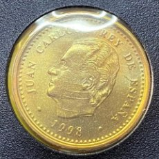 Monedas Juan Carlos I: MONEDA JUAN CARLOS I 100 PTAS LIS ABAJO 1998 MBC+++. Lote 269207943