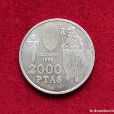 Monedas Juan Carlos I: MONEDA 2000 PESETAS - AÑO 1999 (XACOBEO). Lote 273326853