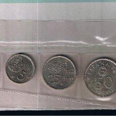 Monedas Juan Carlos I: MONEDAS DE PESETA MUNDIAL DE FUTBOL ESPAÑA 82. AÑO 1980. NO CIRCULADAS. Lote 274287588