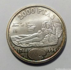 Monedas Juan Carlos I: 1996. 2000 PESETAS PLATA. GOYA. S.C.. Lote 275162298