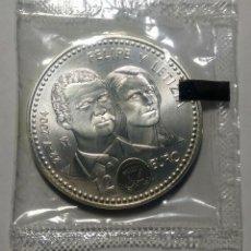 Monedas Juan Carlos I: 2004. ESPAÑA. 12 EURO PLATA. S.C. FELIPE Y LETIZIA.. Lote 275164983