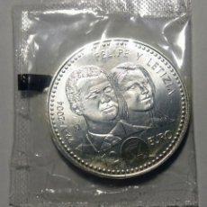 Monedas Juan Carlos I: 2004. ESPAÑA. 12 EURO PLATA. S.C. FELIPE Y LETIZIA.. Lote 275165333